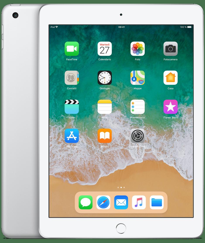 iPad silver 128 gb
