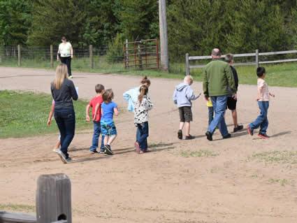 Group visits to Safari North Wildlife Zoo