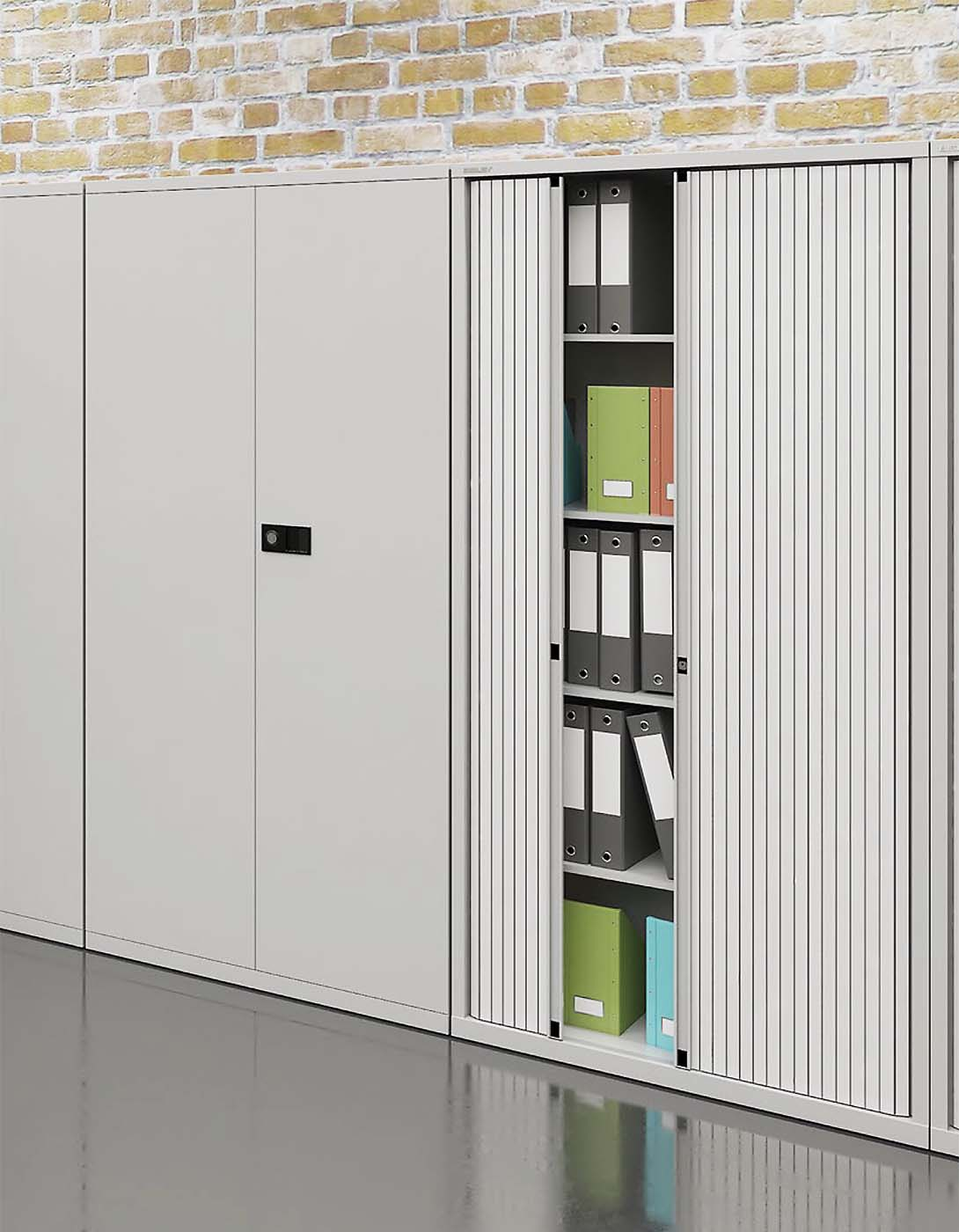 Tambour Storage