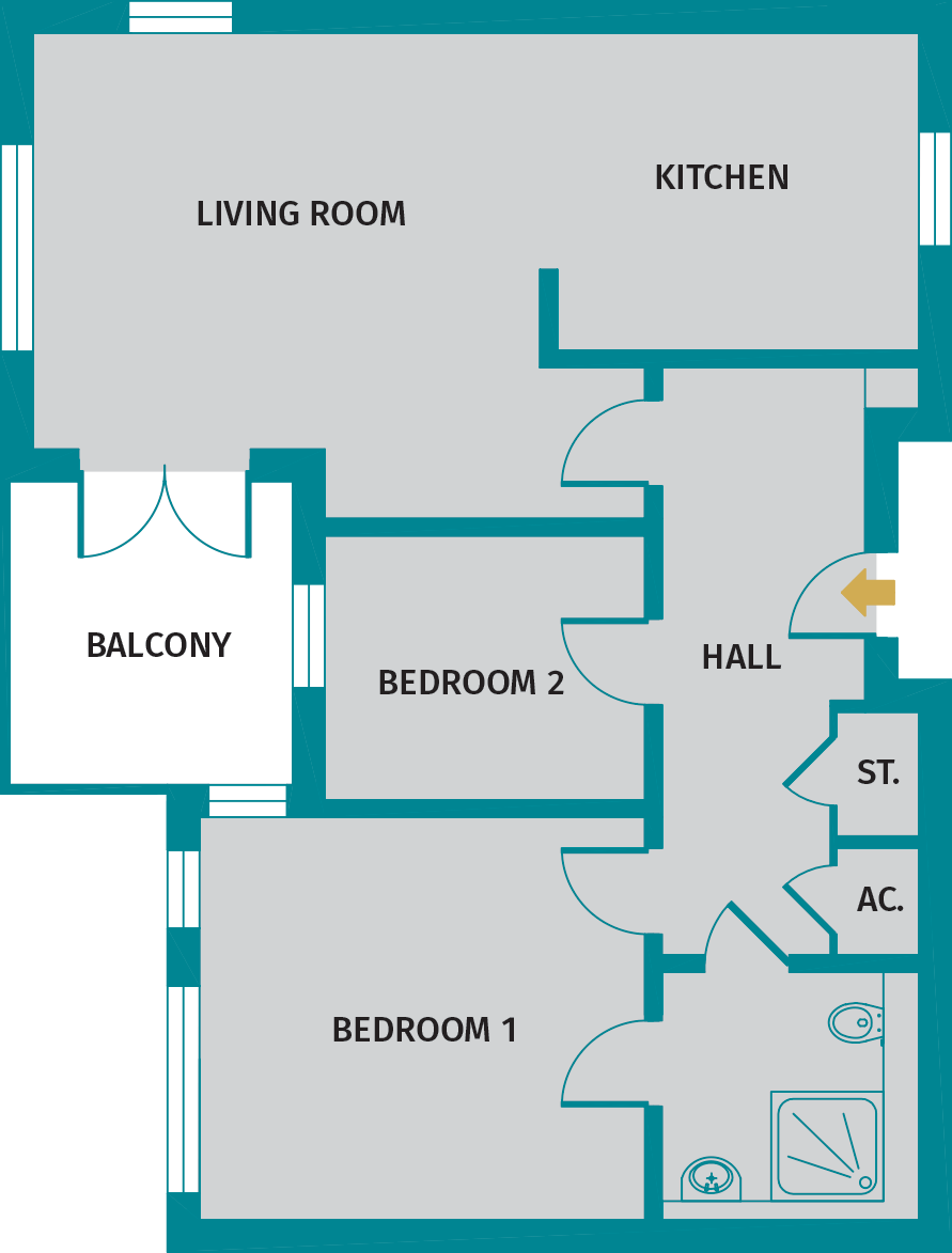 Edmund floorplan
