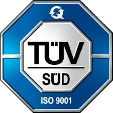 Zertifikat TÜV ISO 9001