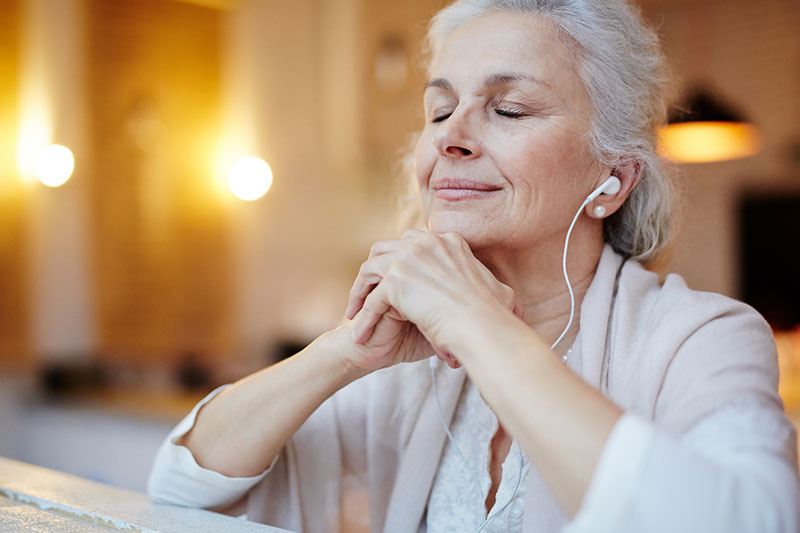 listening to music with high pitch hearing loss