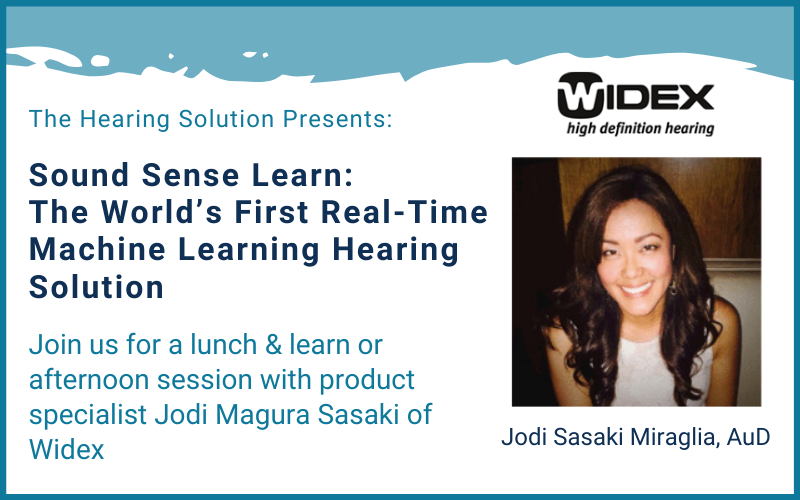 Sound Sense Learn: The World's First Real-Time Machine Learning Hearing Solution