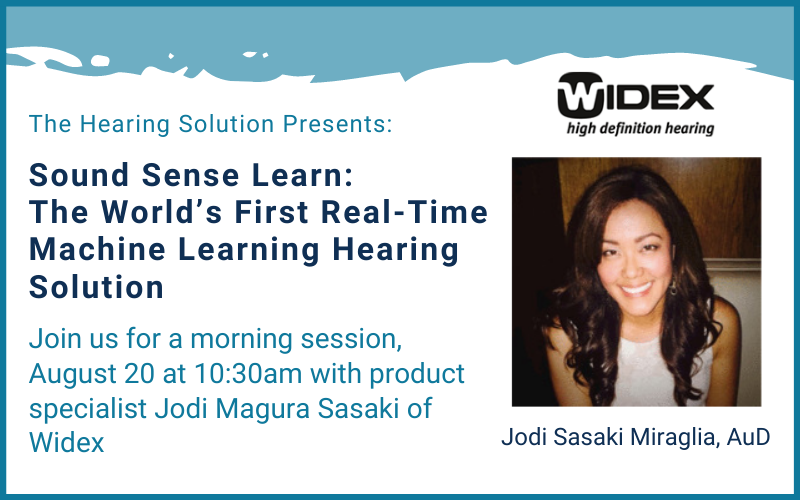 SoundSense Learn: The World's First Real-Time Machine Learning Hearing Solution