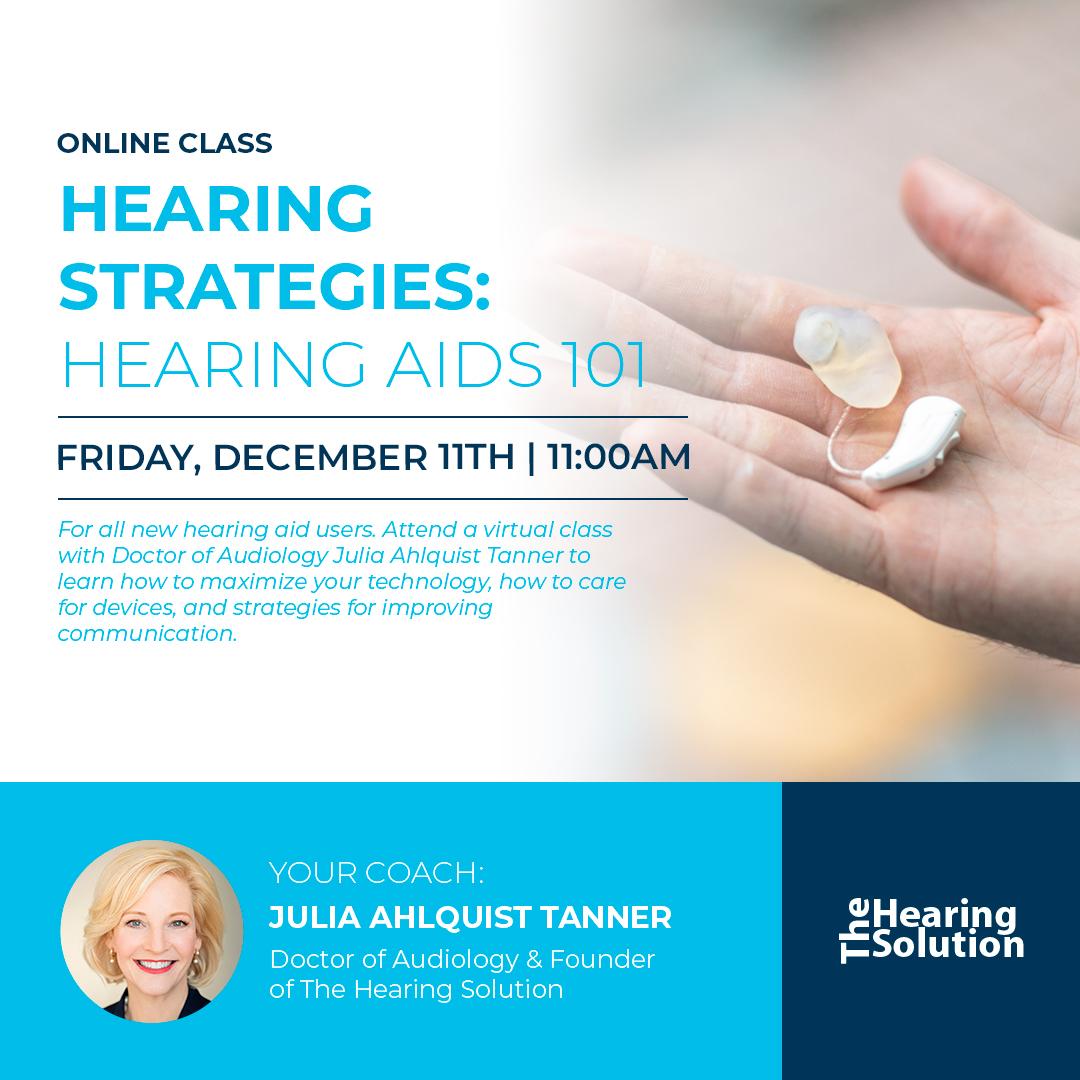Online Class: Hearing Aids 101