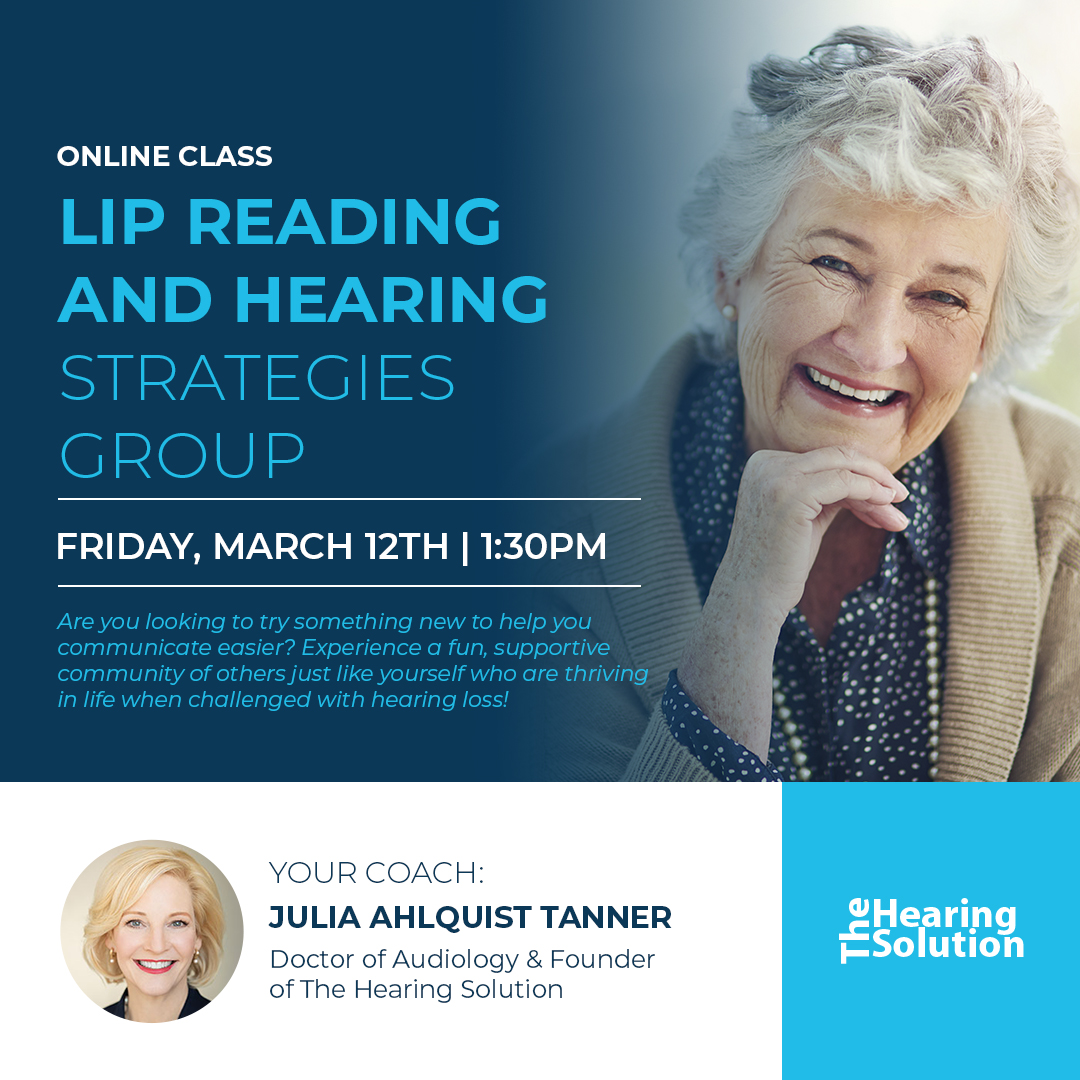 Online Class: Lip Reading and Hearing Strategies