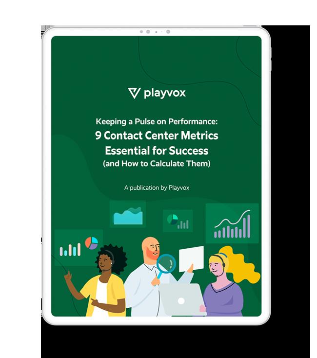 eBook 9 contact center metrics essential for success