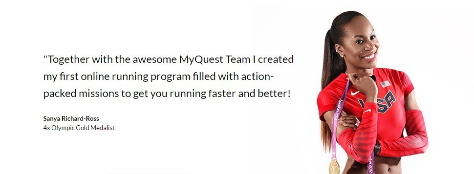 Together with the awesome myQuest Team