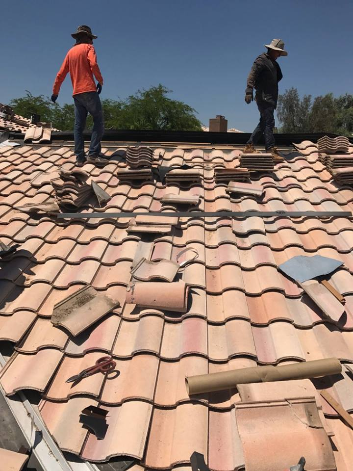 Tile Raise and Re-Set