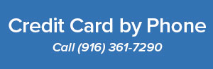 Credit card over the phone