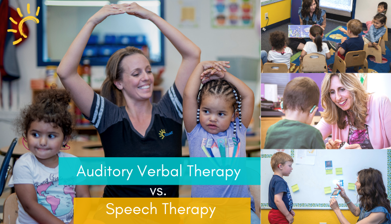 Auditory Verbal Therapy vs. Speech Therapy