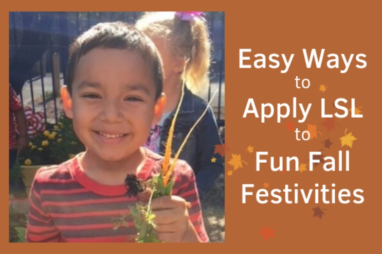 Easy Ways to Apply LSL to Fun Fall Festivities