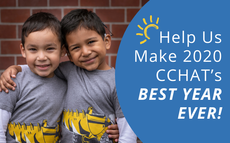 Help Us Make 2020 CCHAT's Best Year Ever!
