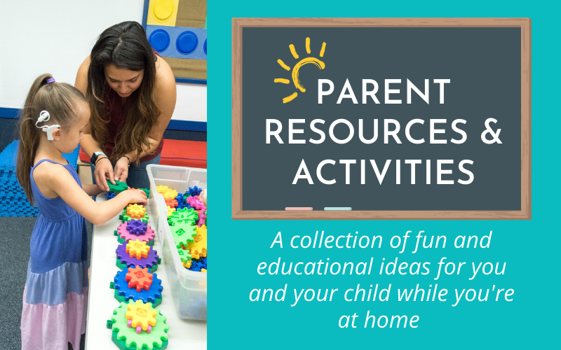 Parent Resources & Activities While You're Home