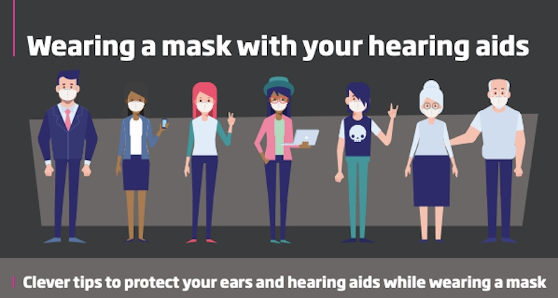 Wearing a Mask with Your Hearing Aids