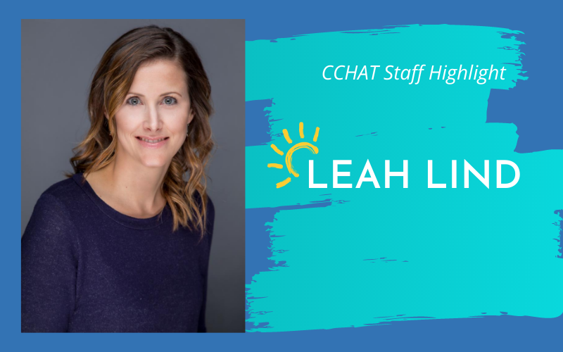 CCHAT Staff Highlight: Leah Lind