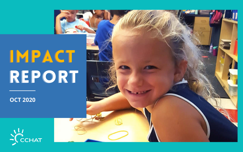 Impact Report October 2020 | CCHAT Center Sacramento
