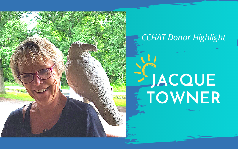 CCHAT Center Donor Highlight: Jacque Towner