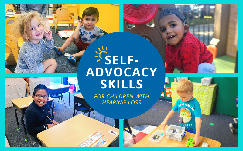 Self-Advocacy Skills for Children with Hearing Loss | CCHAT Center Sacramento