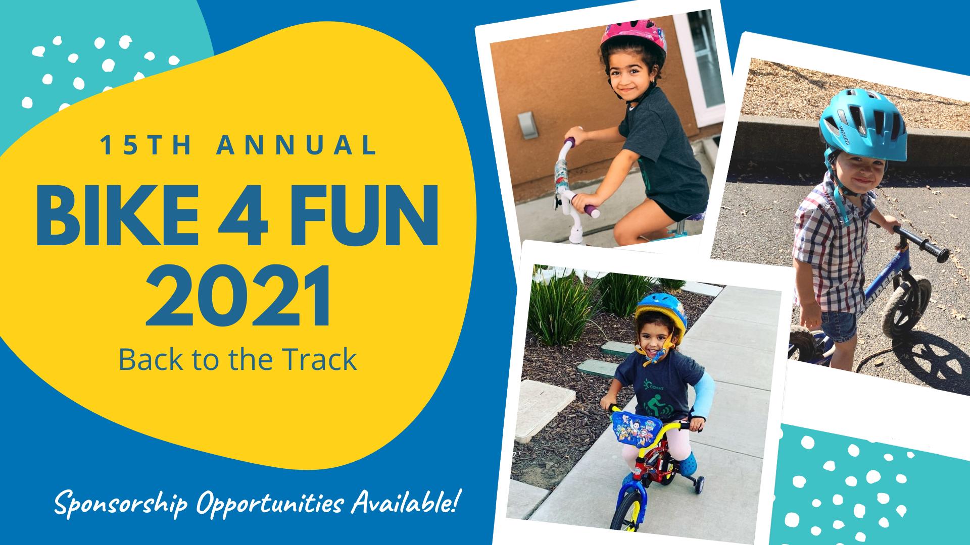 Bike 4 Fun 2021 | CCHAT Sacramento