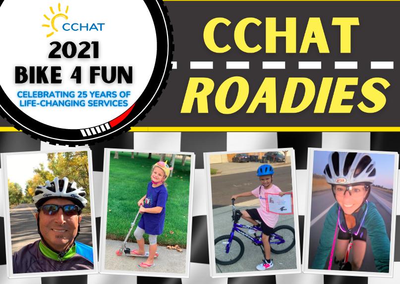 CCHAT Roadies   Bike 4 Fun 2021
