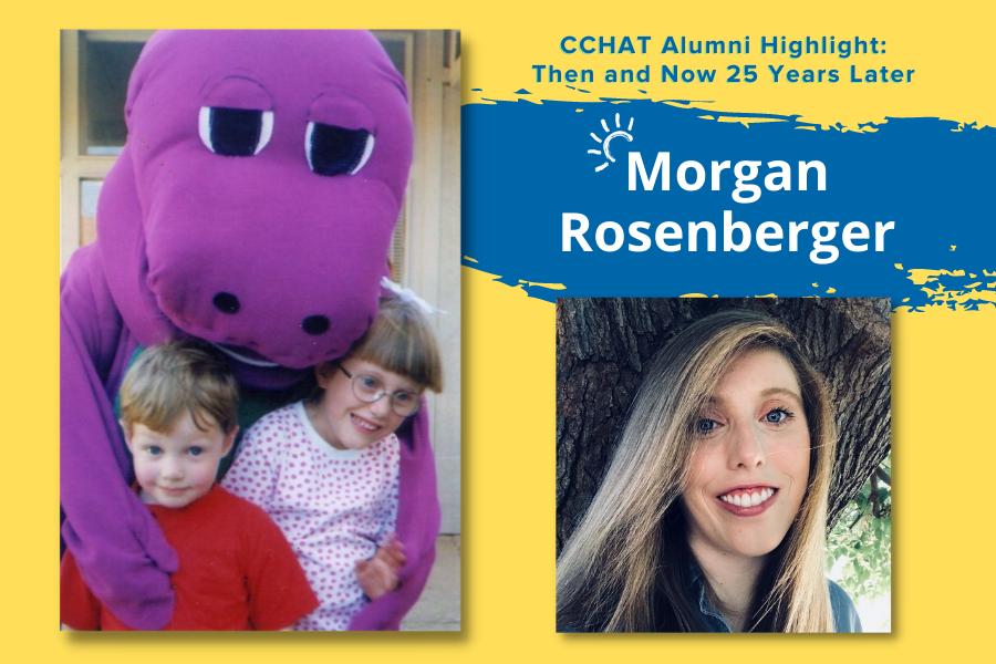 Morgan Rosenberger | CCHAT Alumni Highlight