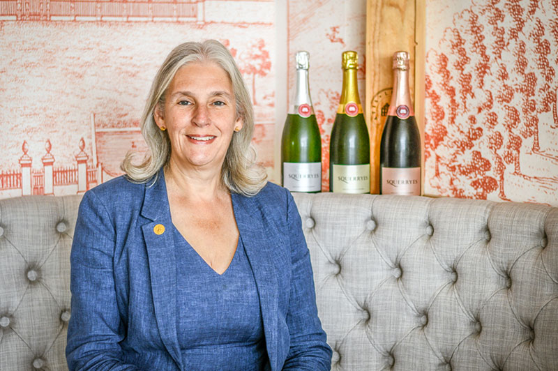 Meet Laura Evans, Squerryes' Master of Wine