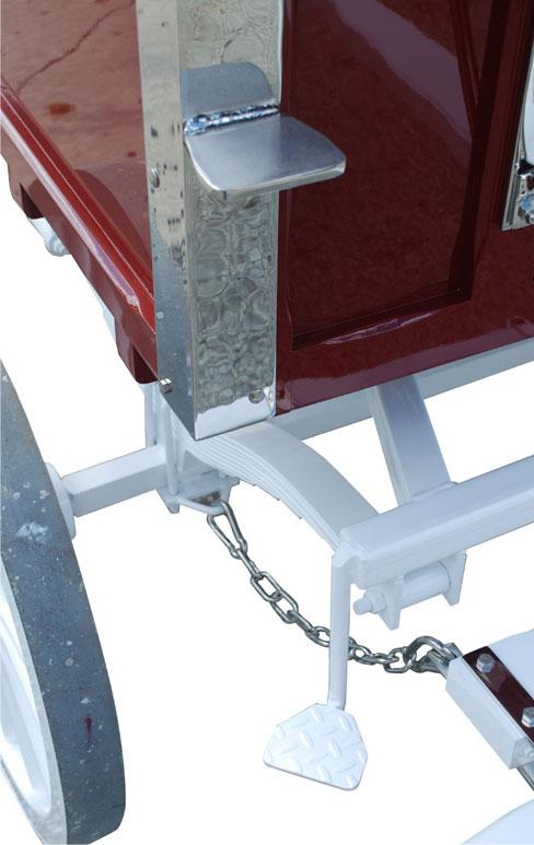 Weaver Wagon Custom Steps