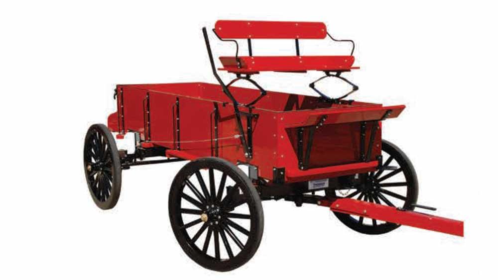 Weaver Hay & Farm Box Wagons