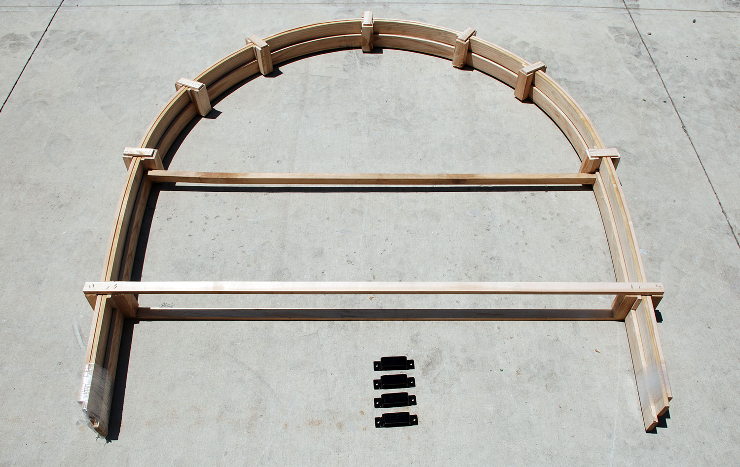 Horse Wagon Bows & Brackets