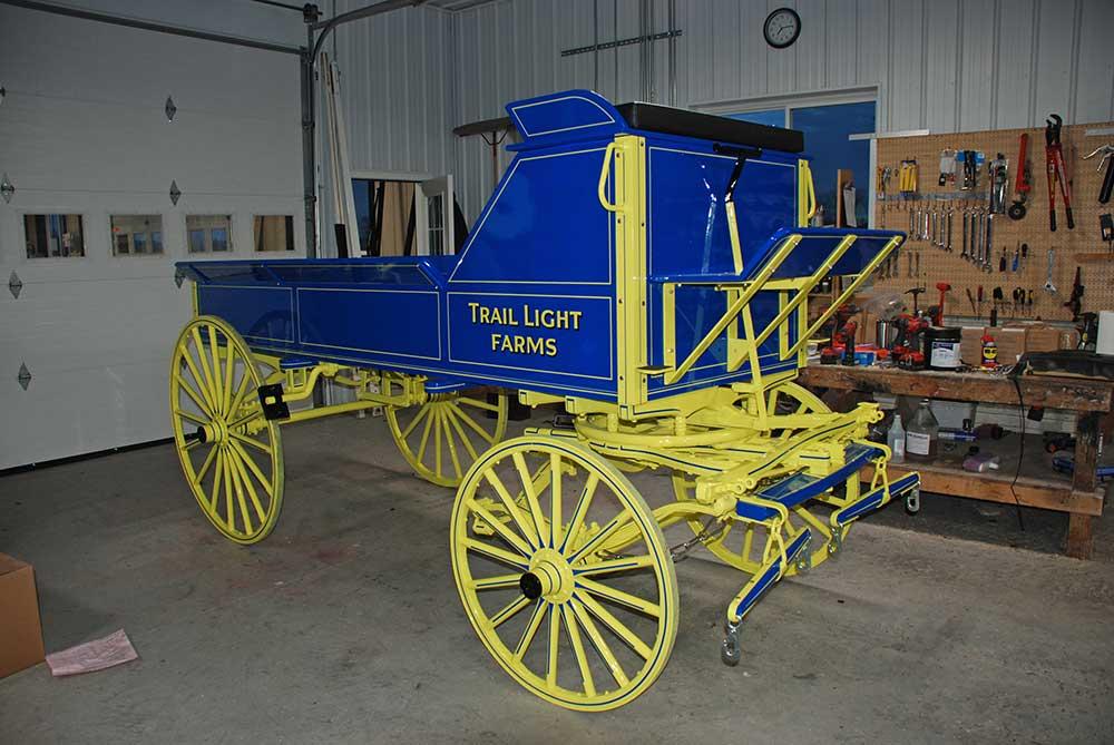 Weaver Wagon Restoration & Repainting