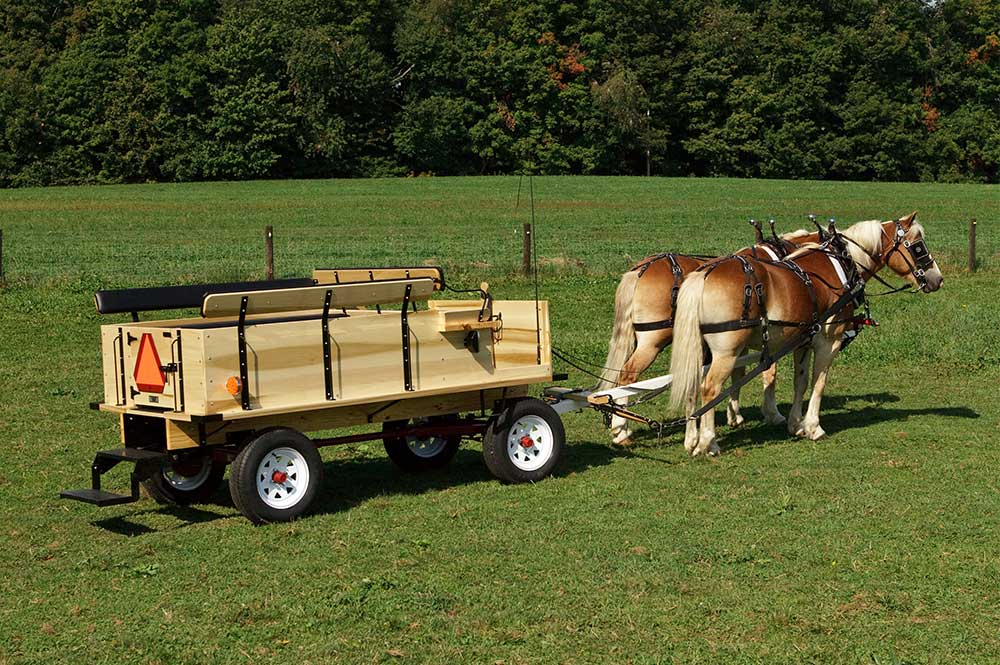 Weaver Haflinger Wagons