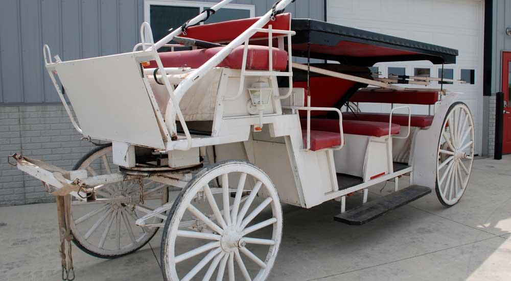 Wagon Restoration Before