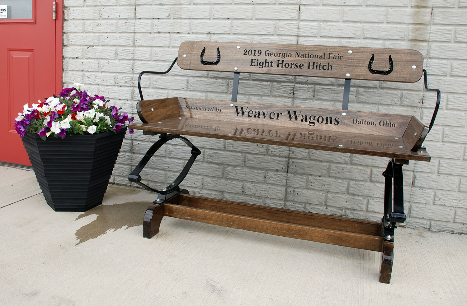 Patio Seats by Weaver Wagons