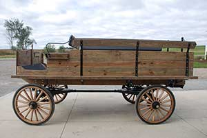 Weaver Draft Horse Wagons