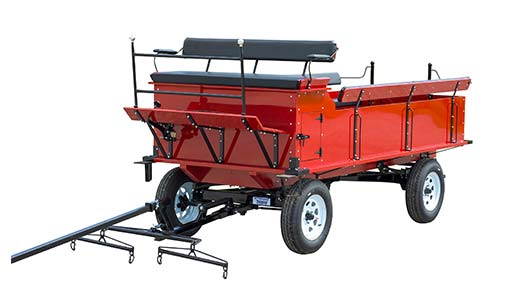 Parade & Trail Wagons from Weaver Wagons in Dalton, Ohio