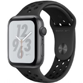 Apple Watch Nike+ Series 4 GPS + Cellular, 44mm Space Grey Aluminium Case with Anthracite/Black Nike Sport Band