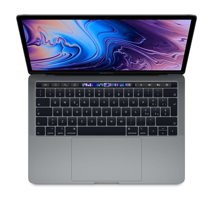 "Apple MacBook Pro 13"" Touch Bar i5 quad-core 2.3GHz / RAM 8Gb / SSD 256GB / Intel Iris Plus Graphic 655 - Space Grey - internazionale"