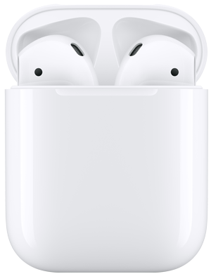 AirPods con custodia di ricarica wireless