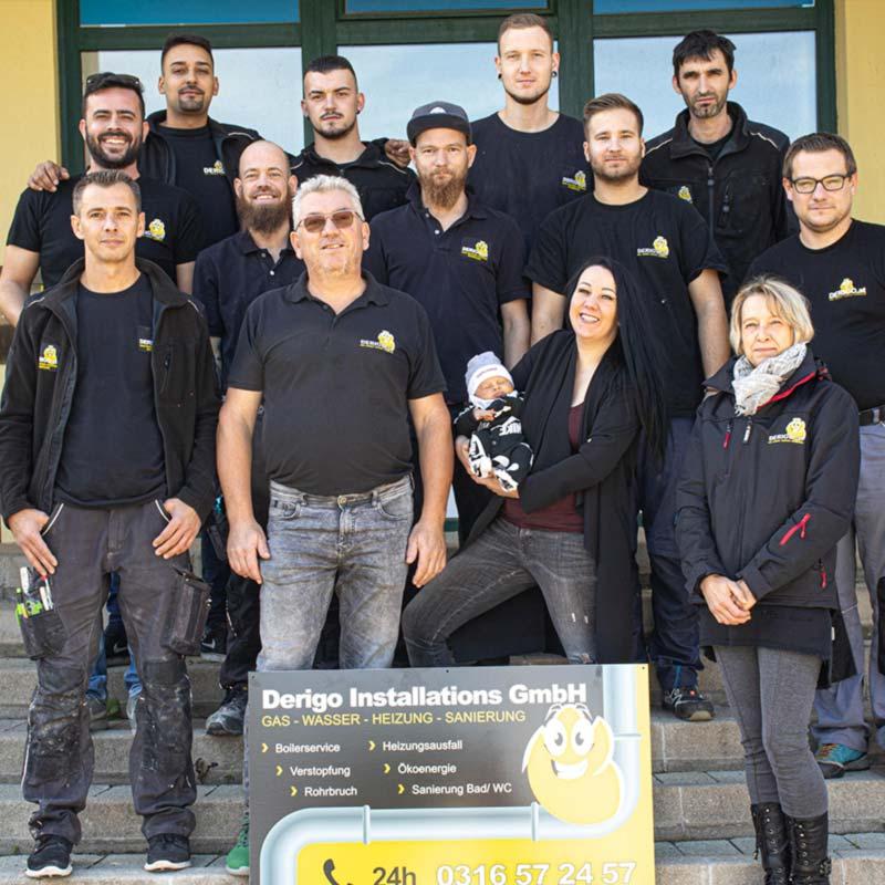 Teambild Derigo Installations GmbH