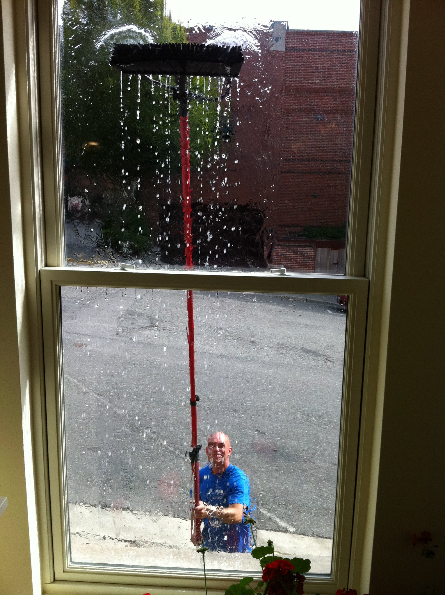 window cleaning project 1