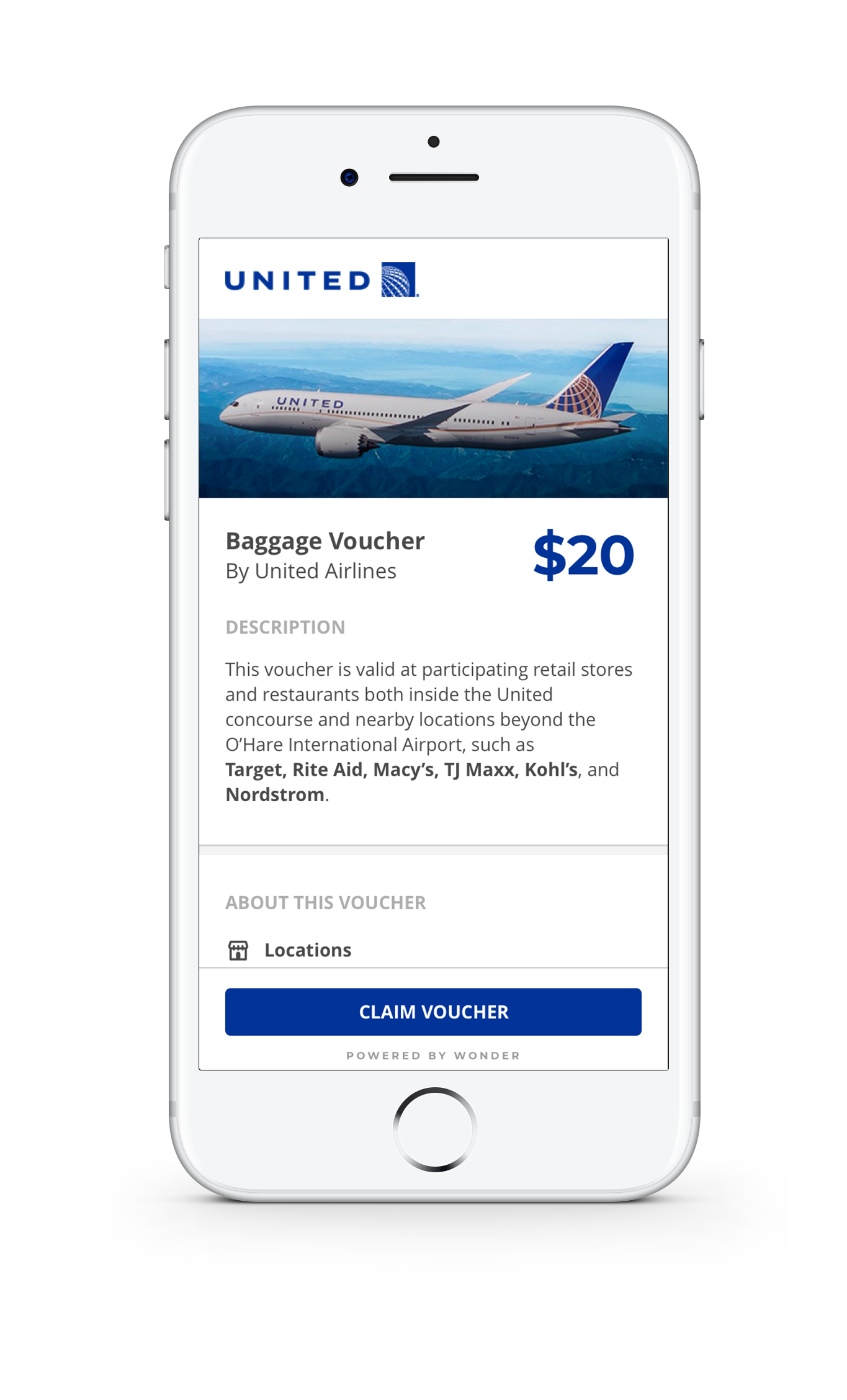 Wonder Voucher Payouts - Airlines