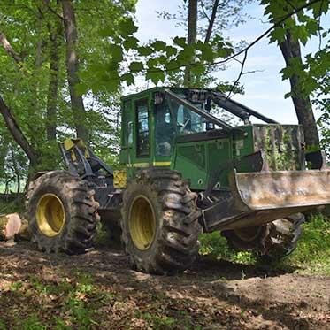Mohawk Lumber - Timber Harvesting Applecreek Ohio