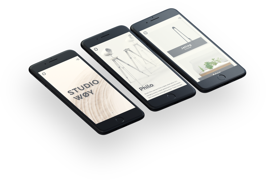 Website Design Studiowoy Mobile