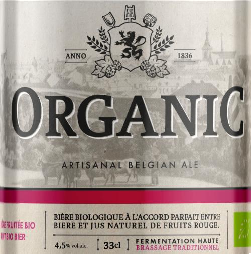 Etiquette La Binchoise Organic