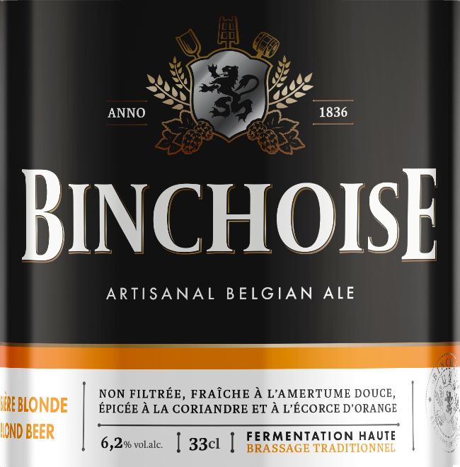 Etiquette La Binchoise Blonde