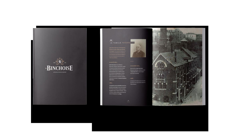 Storytelling La Binchoise - Livret de présentation