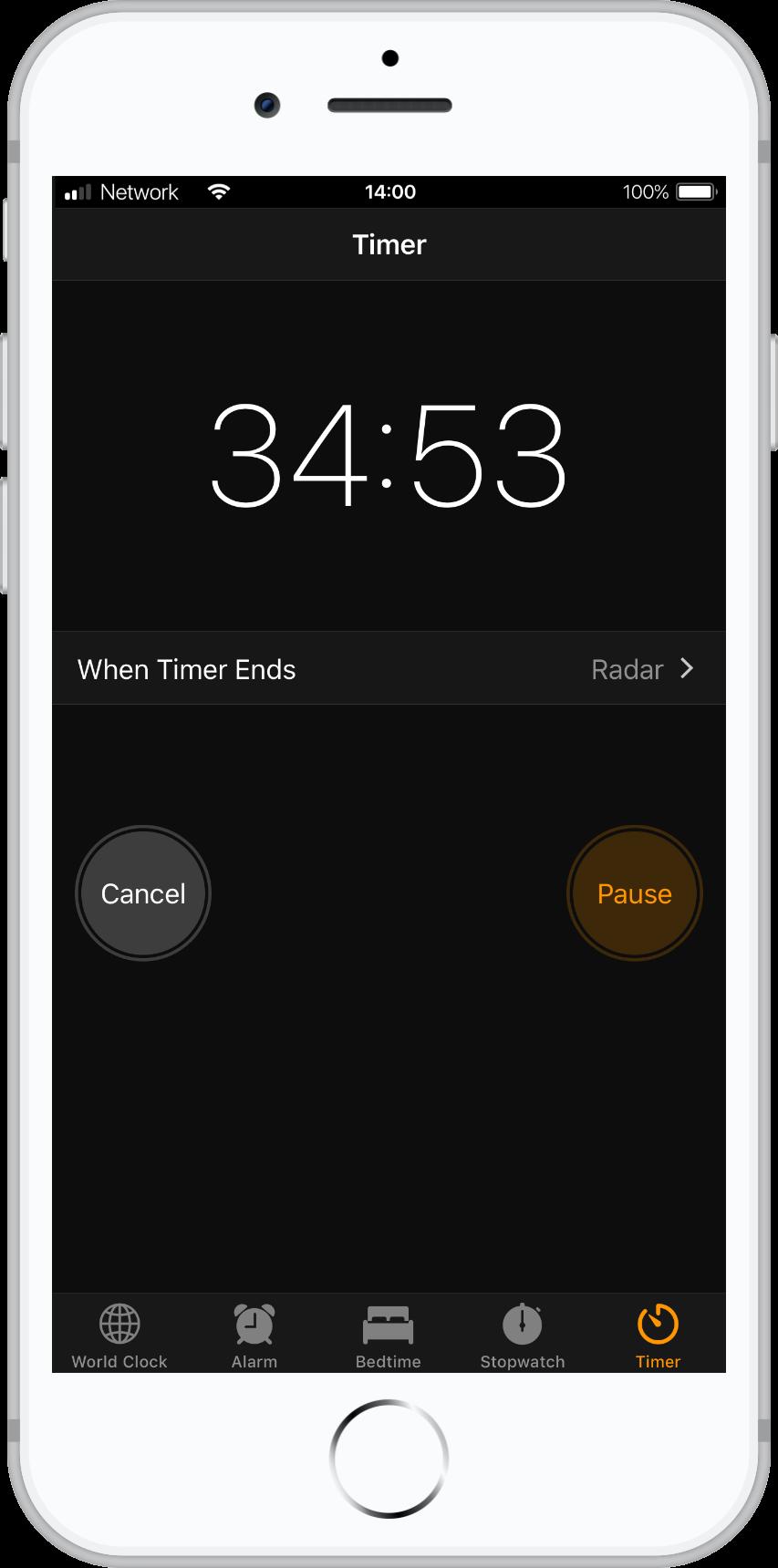 Set a timer for 15 minutes