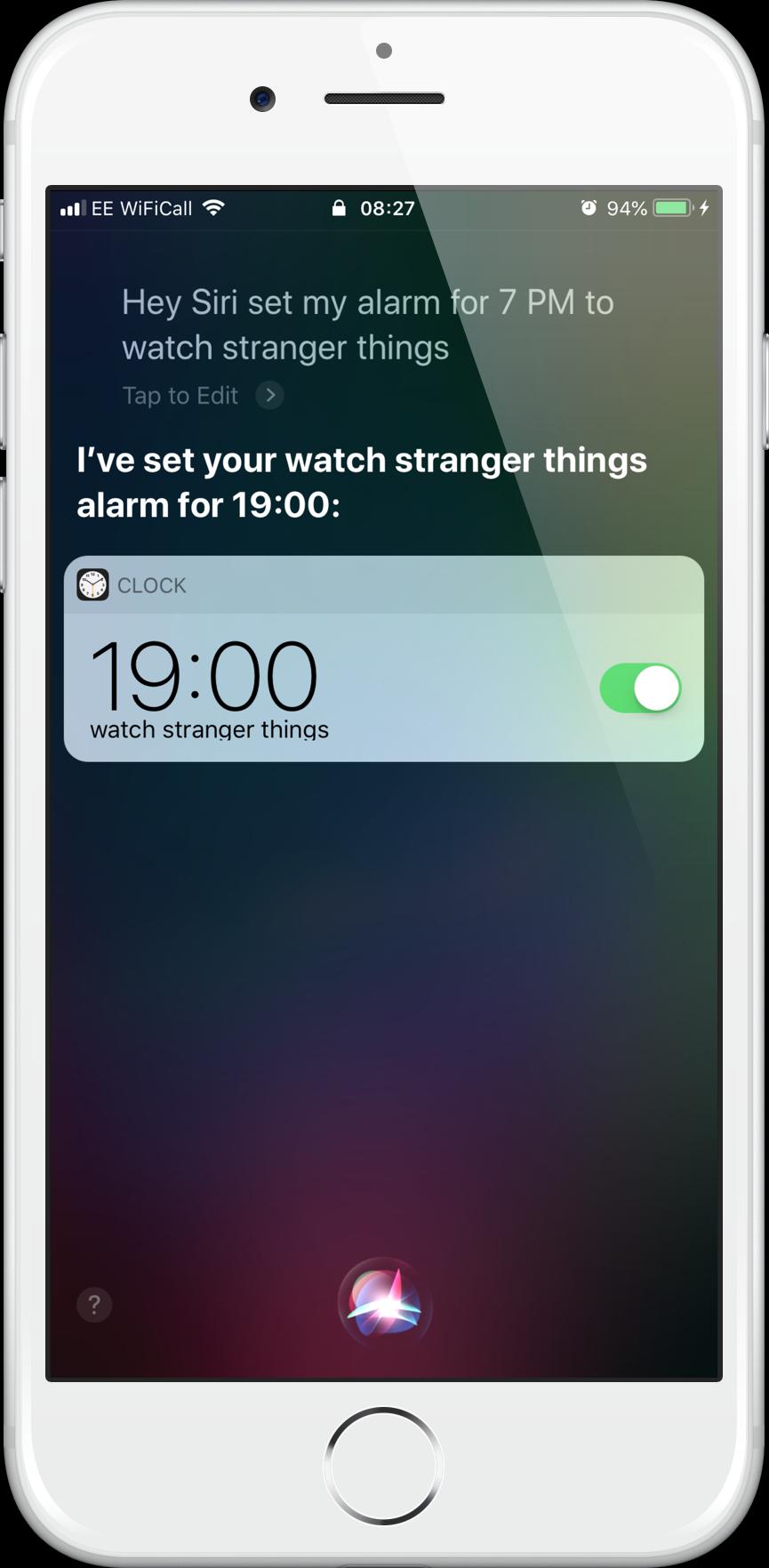 Alarm Stranger Things