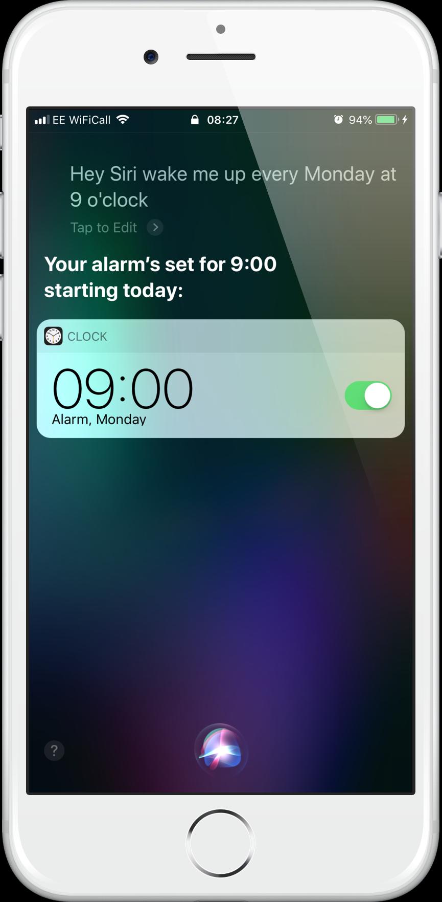 Alarm Every Monday